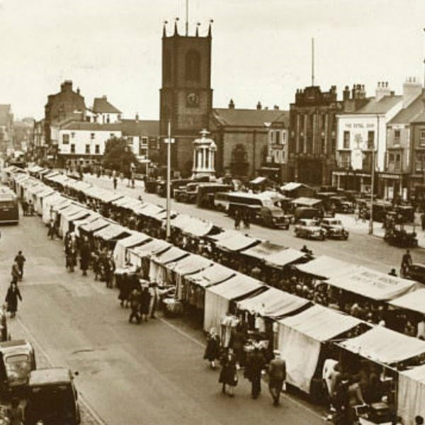 Stockton-on-Tees market place