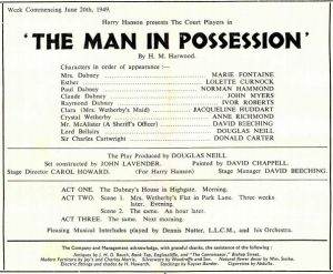 The Man In His Possession