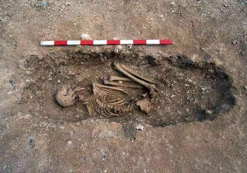 Anglo-Saxon Cemetery - A Gruesome Discovery