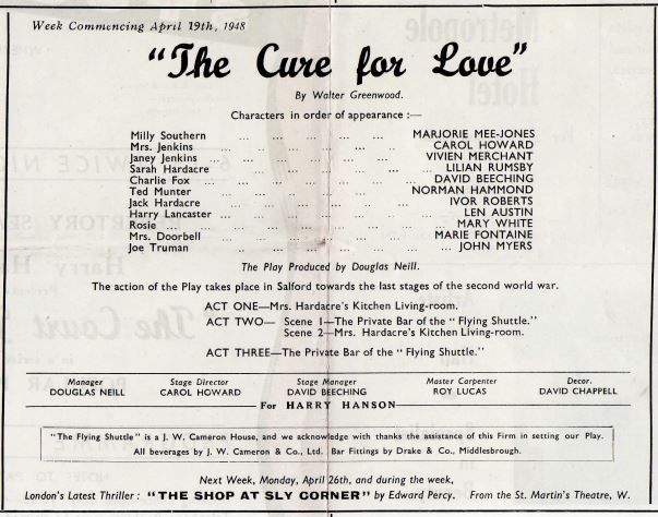 1948 The Cure For Love