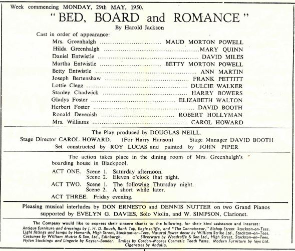 Bed board and Romance