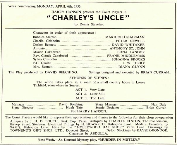 charley's uncle