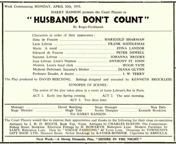 Husbands Don't count