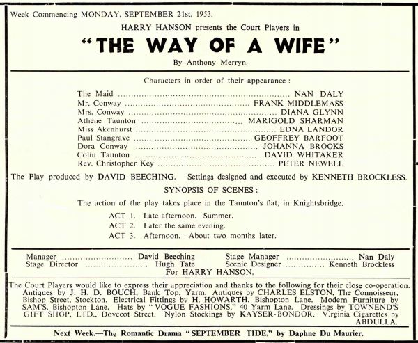 The Way of a Wife