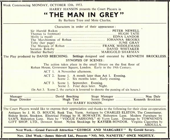 The Man in Grey