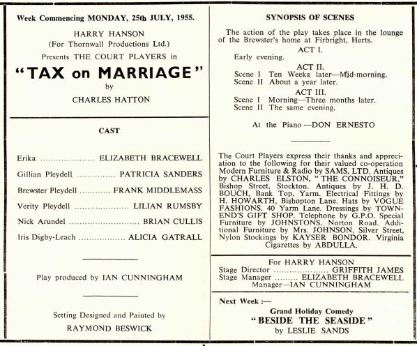 Tax on marriage