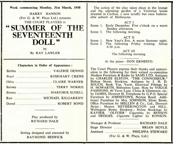The Summer of the Seventh Doll